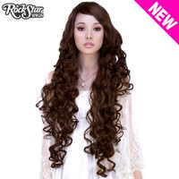 """Cosplay Wigs USA™  Curly 90cm/36"""" - Brown Mix -00456"""