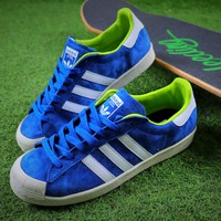 Adidas Originals Superstar Matchcourt Low Shoes Blue Sneaker - Best Online Sale