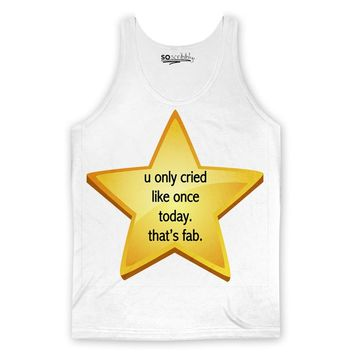 Cried Once Tank Top