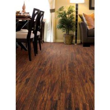 TrafficMASTER, Alameda Hickory 7 mm Thick x 7-3/4 in. Wide x 50-5/8 in. Length Laminate Flooring (24.52 sq. ft. / case), HL707 at The Home Depot - Mobile