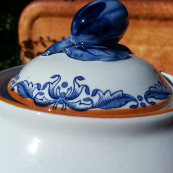 Rörstrand Sweden Ost India / Ostindia coffee pot (earthenware).. design from 1932
