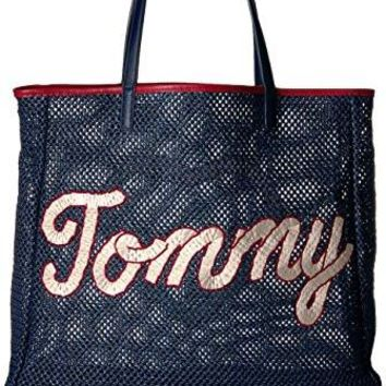 Womens Fashion Bags Handbags Tommy Hilfiger Th Straw Tote Bag