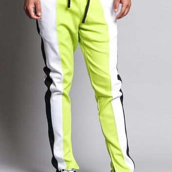 Slim Fit Contrasting Track Pants TR524 - E15H