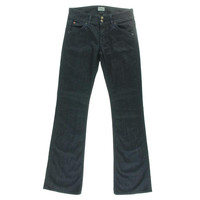 Hudson Womens Mid-Rise Signature Bootcut Jeans