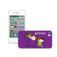 iLuv iCP751LPNK Peanuts Character Case for iPhone 4/4S (Lucy) - 1 Pack - Retail Packaging - Pink