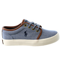POLO Ralph Lauren Ethan Low Fashion Sneaker Shoe - Boys
