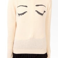 Mysterious Eyes Sweater