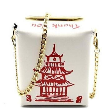 Take Away Chinese Box Purse