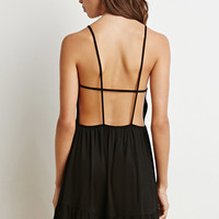 Strappy Open-Back Cami Dress
