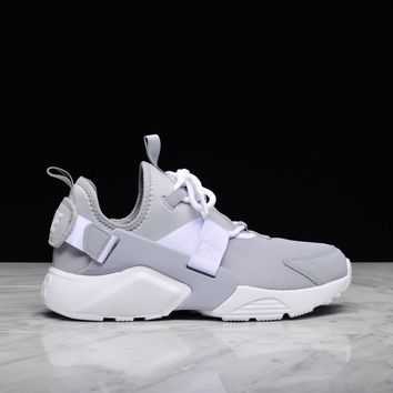 spbest WMNS AIR HUARACHE CITY LOW - WOLF GREY / WHITE