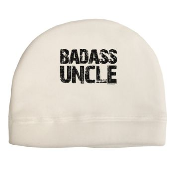 Badass Uncle Adult Fleece Beanie Cap Hat by TooLoud