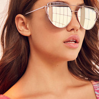 Under The Sun Cat-Eye Sunglasses - Urban Outfitters
