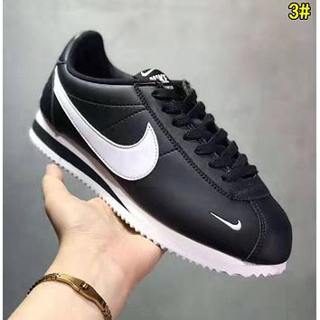 Nike Classic Cortez Trending Women Men Leather Sport Running Shoes Sneakers 3#