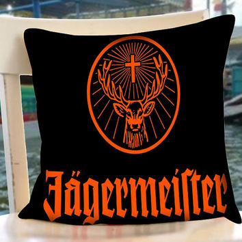 Jagermeister - Pillow Case.Pillow Cover,Retro Pillow,Throw Pillow