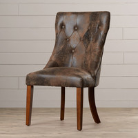 August Grove Angela Side Chair (Set of 2)