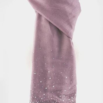 Touch of Sparkle Oblong Scarf