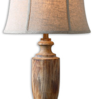 Uttermost Calvino Solid Wood Table Lamp - 27687