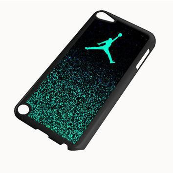 Nike Air Jordan Jump Mint Glitter iPod Touch 5 | 4 Case