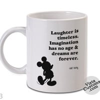 Disney Quote walt disney 1 Mug, Coffee mug coffee, Mug tea, Design for mug