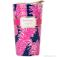 Lilly Pulitzer Travel Mug in Flameco