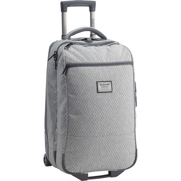 Burton: Wheelie Flight Deck Travel Bag - Grey Heather Diamond Ripstop