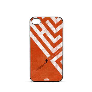 Maze Runner Simple Poster iPhone 4 / 4s Case