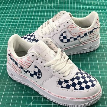 Nike Air Force 1 07 Low Af1 Colorful Cream Sport Shoes - Best Online Sale