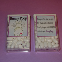 EASTER BUNNY POOP,candy,tic tacs,labels,stickers,kids,favors,