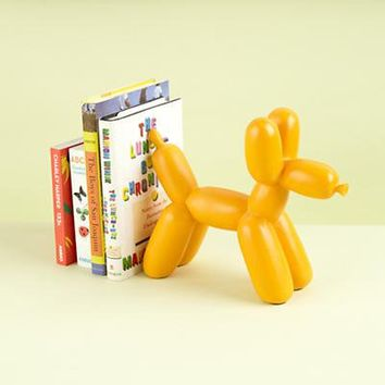 The Land of Nod: Kids' Room Décor: Colorful Orange Balloon Animal Bookends in Bookends