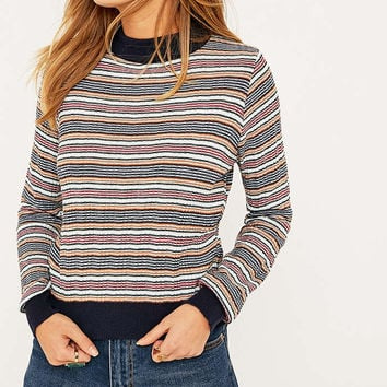 Urban Outfitters Contrast Stripe Jumper - Urban Outfitters