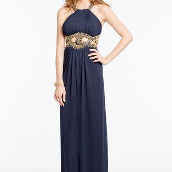 Open Midriff Cleo Neck Dress from Camille La Vie and Group USA