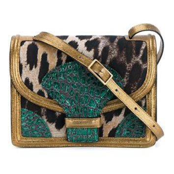 DRIES VAN NOTEN | Leopard Print Leather Cross Body Bag | Womenswear | Browns Fashion