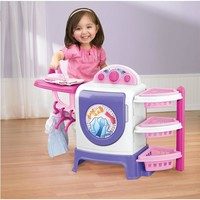 Toddler, Kids Pretend Toy Laundry Play Set