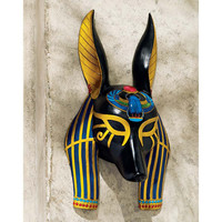 Park Avenue Collection Anubis Mask Of Ancient Egypt