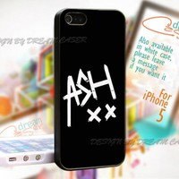 Ashton Irwin Sign 5 Sos - Print On Hard Case For iPhone 5 Case