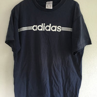 Navy Adidas Short Sleeve T-Shirt