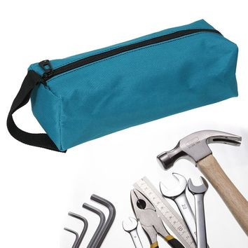 Waterproof Storage Tools Utility Bag Multifunction Electrical Package Oxford Canvas For Small Metal Parts With Carrying Handles