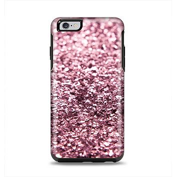 The Subtle Pink Glimmer Apple iPhone 6 Plus Otterbox Symmetry Case Skin Set