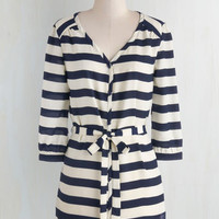 Nautical Long 3 Patisserie Picks Tunic in Stripes