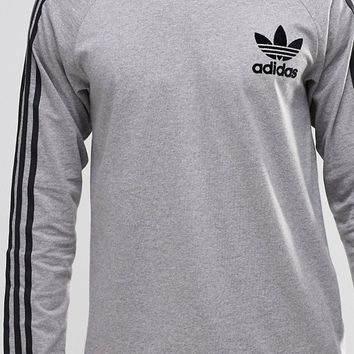 adidas Originals Adicolour Long Sleeve T-Shirt B10713 at asos.com