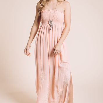 Seabrook Maxi Dress in Pink