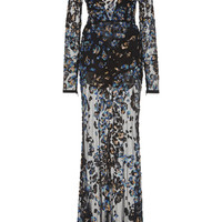 Embroidered Mermaid Dress | Moda Operandi