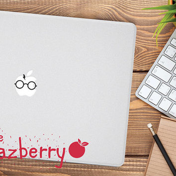 Harry Potter Macbook Decal Sticker Macbook Sticker Macbook Pro Sticker Laptop Decal Hogwarts Sticker Hogwarts Macbook Decal Sticker Potter