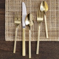 Gold Flatware 5-pc. Place Setting