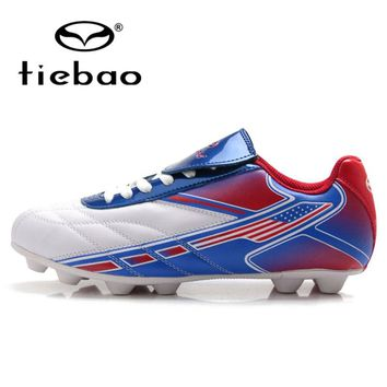 TIEBAO Professional Outdoor Football Boots Men Women Soccer Shoes F & H & A & S Soles Training Football Cleats Sneakers