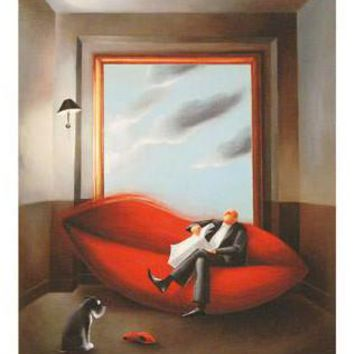 Dreams of Love - Limited Edition Giclee Hahnemuhle Paper by Berit Kruger-Johnsen