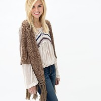 Gimmicks By BKE Embroidered Cardigan