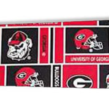 "Georgia Bulldogs 52"" Ceiling Fan BLADES ONLY"