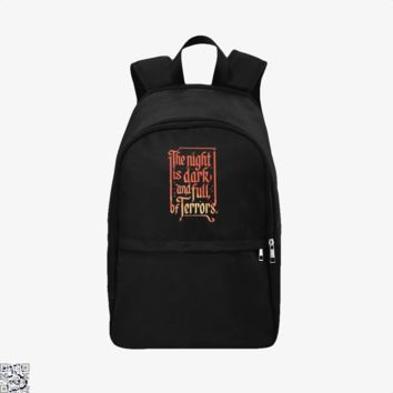 The Night Is Dark And Full, Game of Thrones Backpack