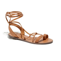 The Leather Lace Sandal
